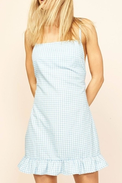 MinkPink Gingham Chambray Dress - Product List Image