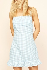 MinkPink Gingham Chambray Dress - Product Mini Image