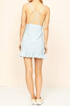 MinkPink Gingham Chambray Dress - Alternate List Image