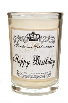 Shoptiques Product: Happy Birthday Candle