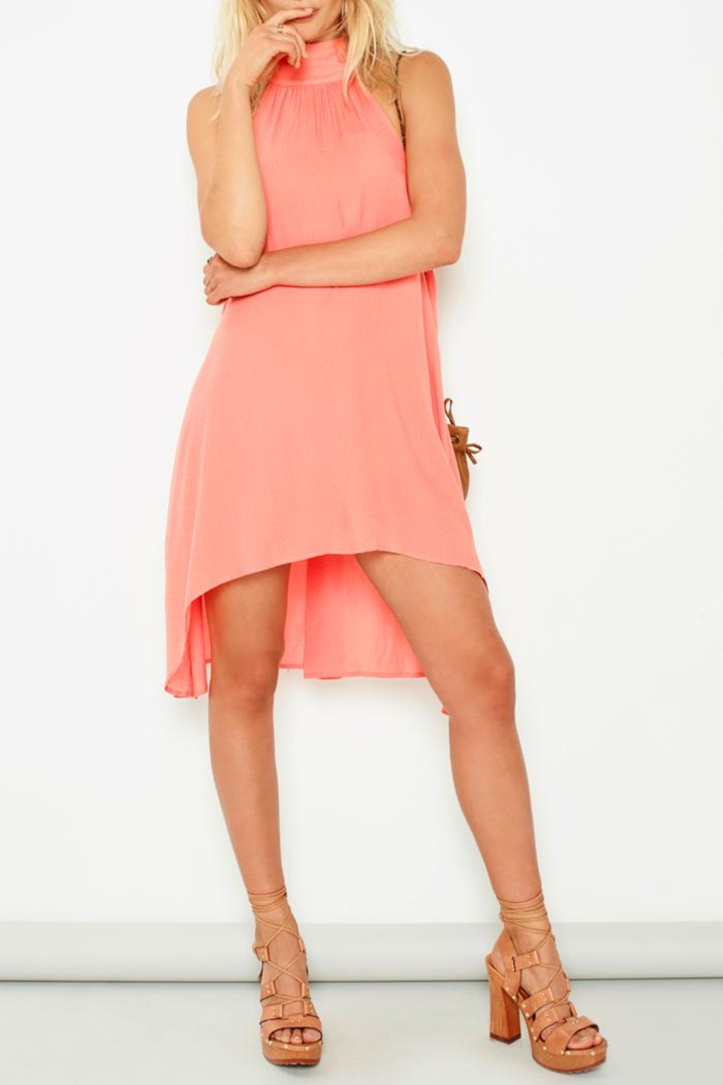 MinkPink Hot Swing Dress - Front Cropped Image