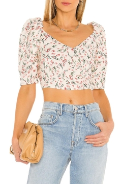 MINKPINK Kacey Ruched Top - Product List Image