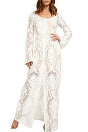 MINKPINK Lace Maxi Dress - Front cropped