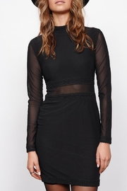 MinkPink Ladykiller Mesh Dress - Front cropped