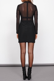MinkPink Ladykiller Mesh Dress - Back cropped