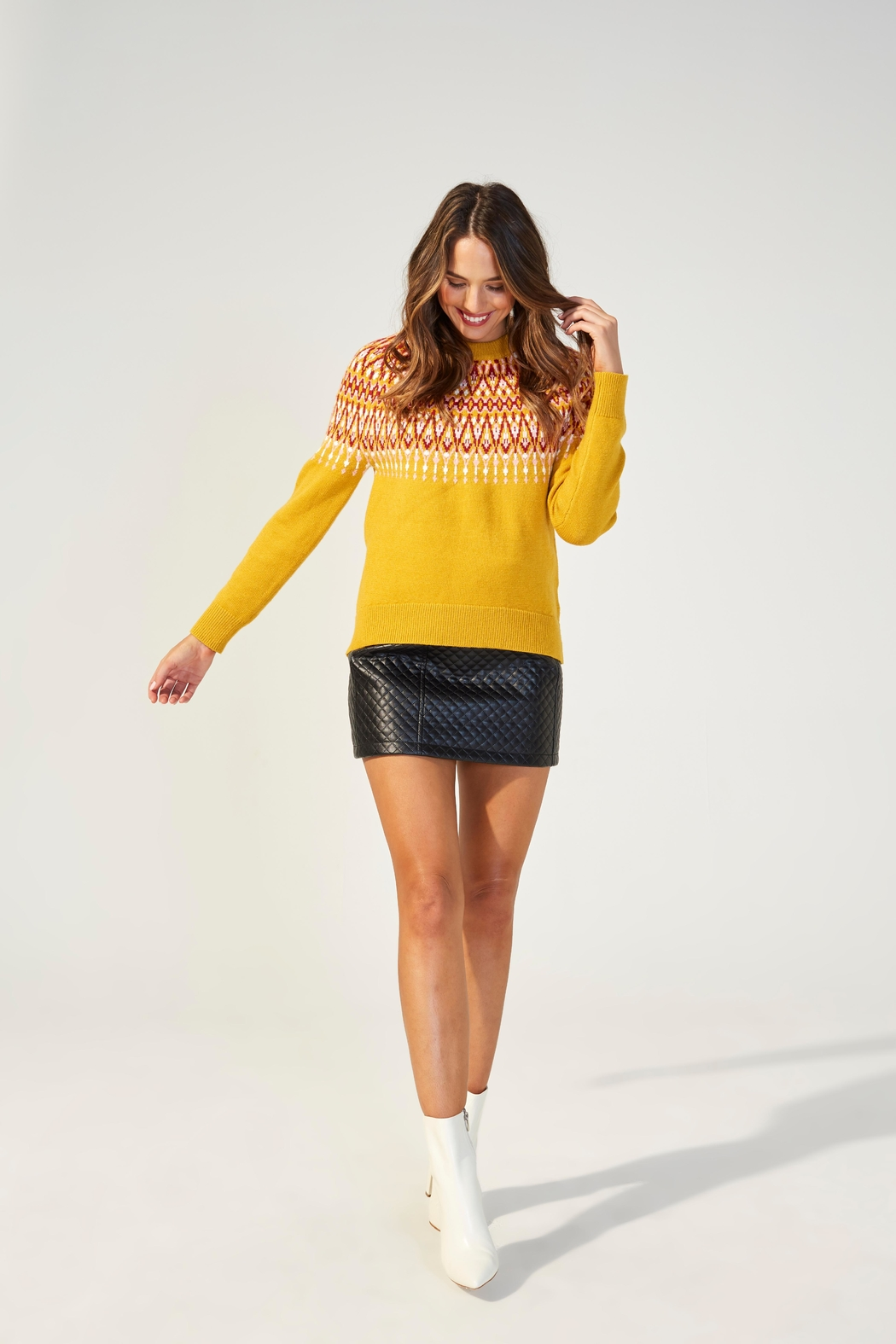 MINKPINK Lean On Sweater - Front Full Image