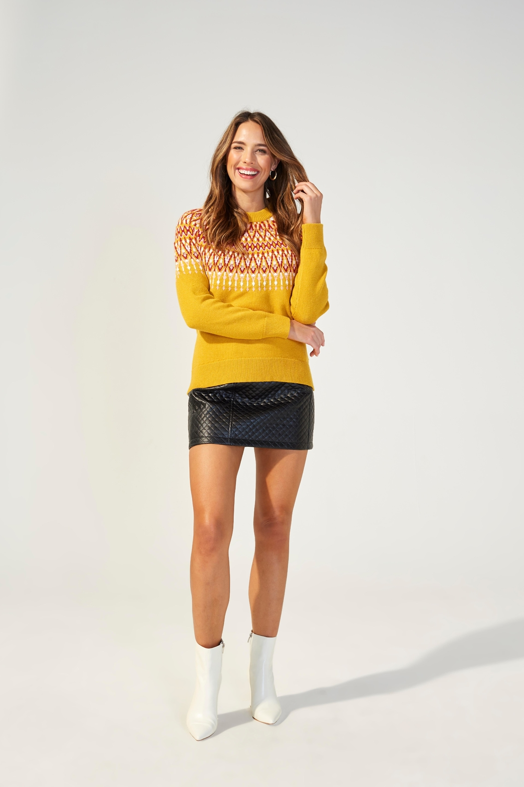 MINKPINK Lean On Sweater - Front Cropped Image