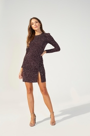 MINKPINK Metallic Texture Mini-Dress - Product Mini Image