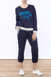 MinkPink Move Super Duper Sweatshirt - Front full body