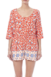 MinkPink Neighborhood Floral Romper - Side cropped