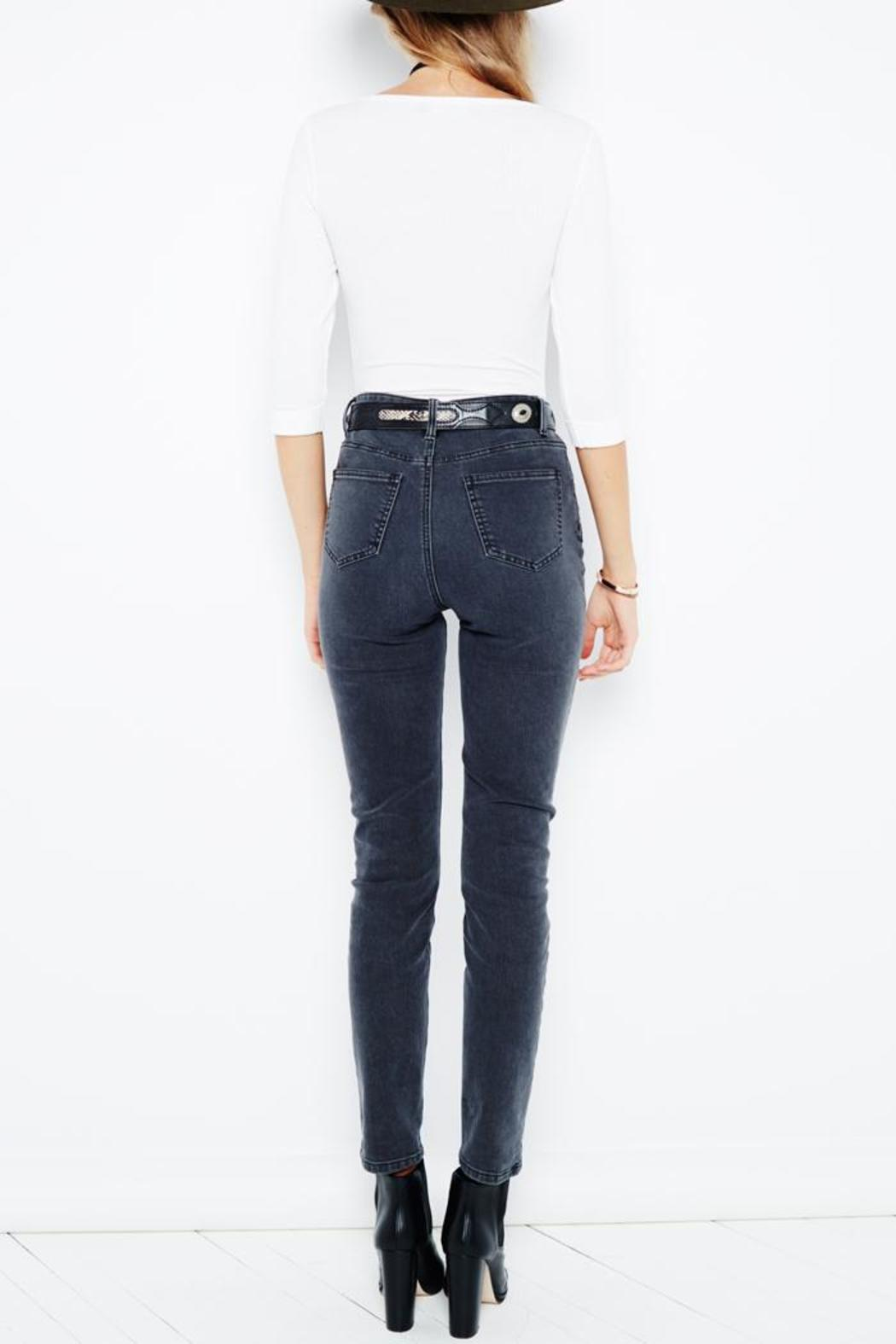 MINKPINK New Folk Jeans - Side Cropped Image
