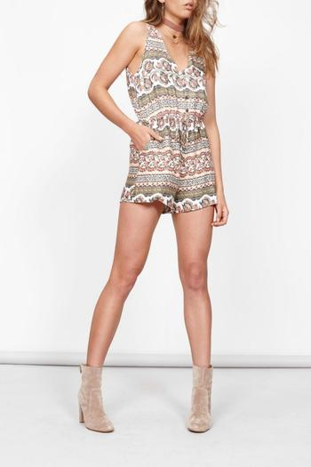 MinkPink Playsuit Shorts Romper - Main Image