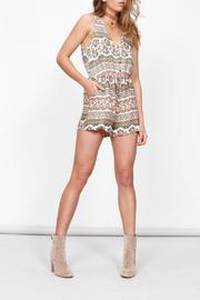 MinkPink Playsuit Shorts Romper - Front cropped