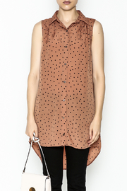 MinkPink Dotted Tunic Dress - Front full body
