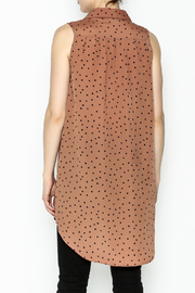 MinkPink Dotted Tunic Dress - Back cropped