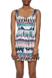 MINKPINK Printed Fit-And-Flare Dress - Side cropped