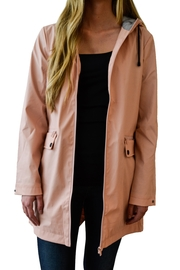MinkPink Rain Coat - Front cropped