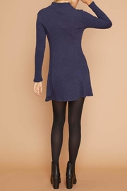 MinkPink Ribbed Keyhole Dress - Side cropped