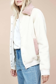 MinkPink Romanticism Sherpa Jacket - Product Mini Image