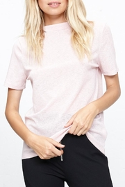 MinkPink Sheer Rib Top - Front full body