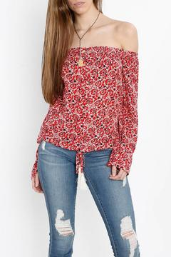 Shoptiques Product: Shoulder Baring Blouse