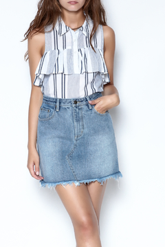 Shoptiques Product: Sidewalk Denim Skirt