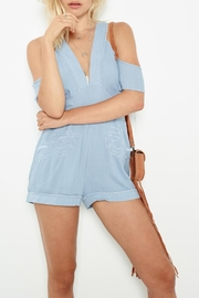 MinkPink Spirited Away Romper - Front cropped