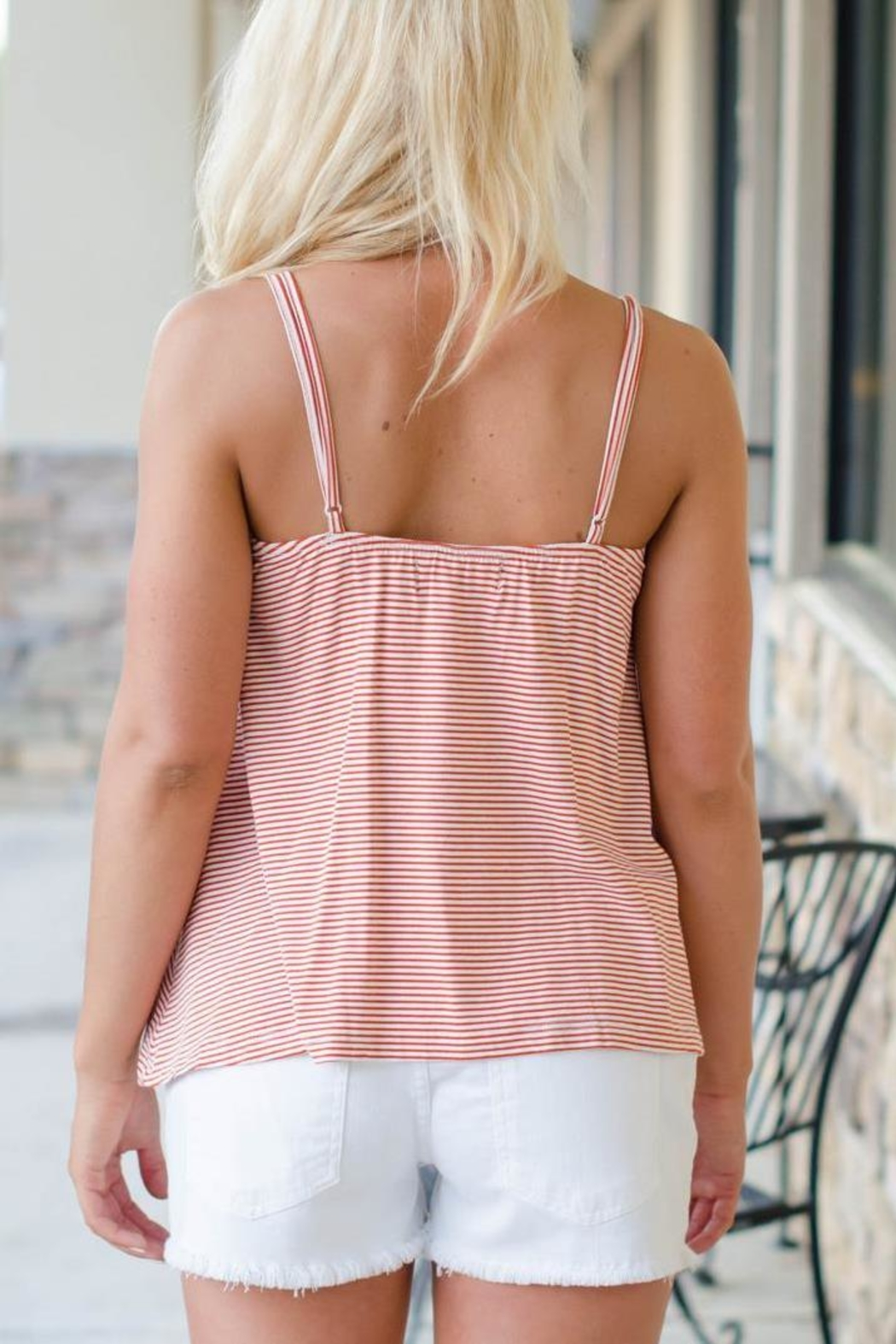 MINKPINK Striped Leah Top - Front Full Image