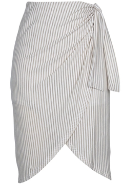MINKPINK Striped Tie Skirt - Product List Image
