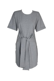 MinkPink Tie Front Dress - Front cropped