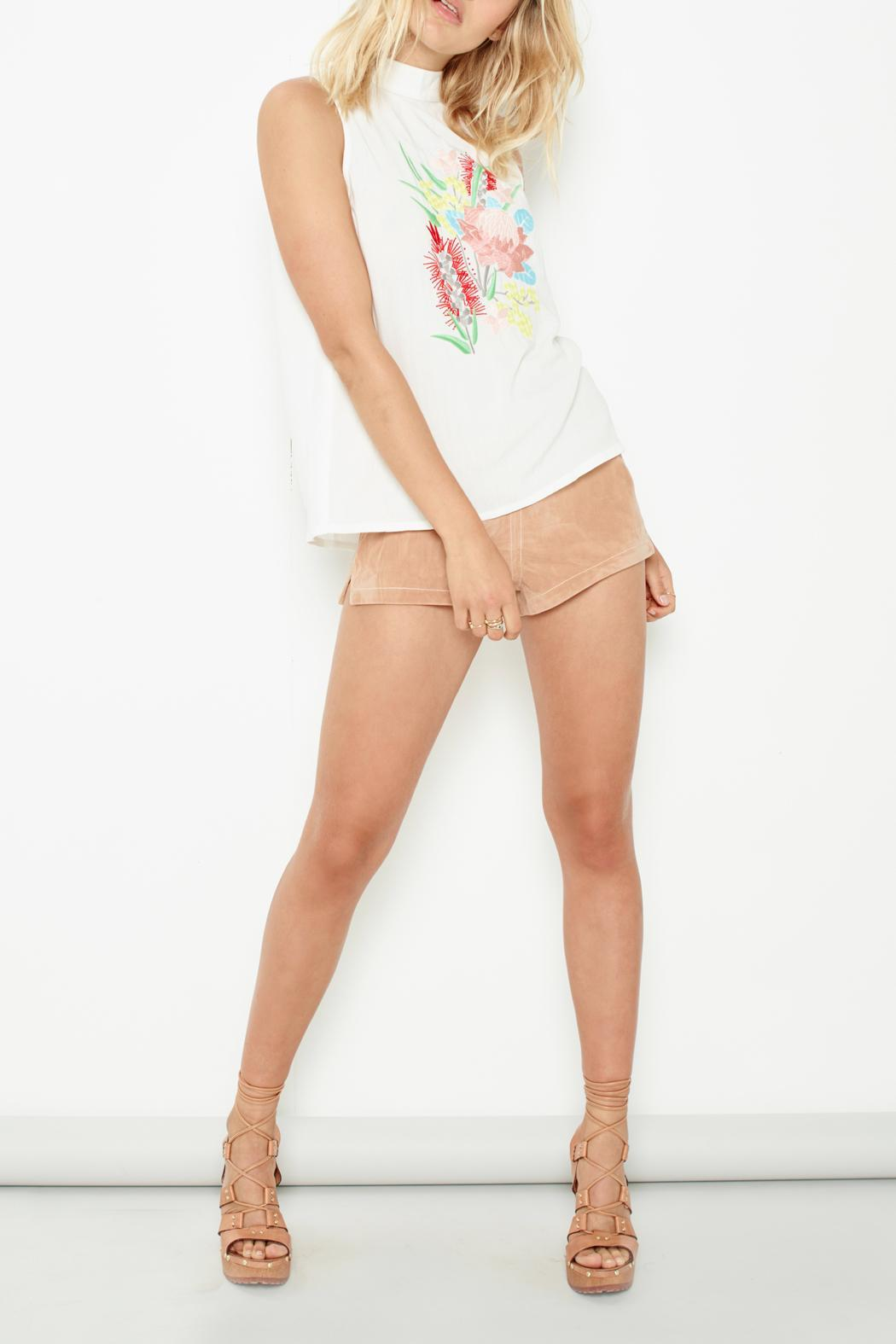 MINKPINK Unforgettable Hot Pants - Front Full Image