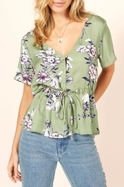 MinkPink Wanderer Drawstring Top - Product Mini Image