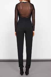 MinkPink Watch Your Back Jumpsuit - Back cropped