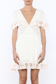 MINKPINK White Shadows Dress - Side cropped