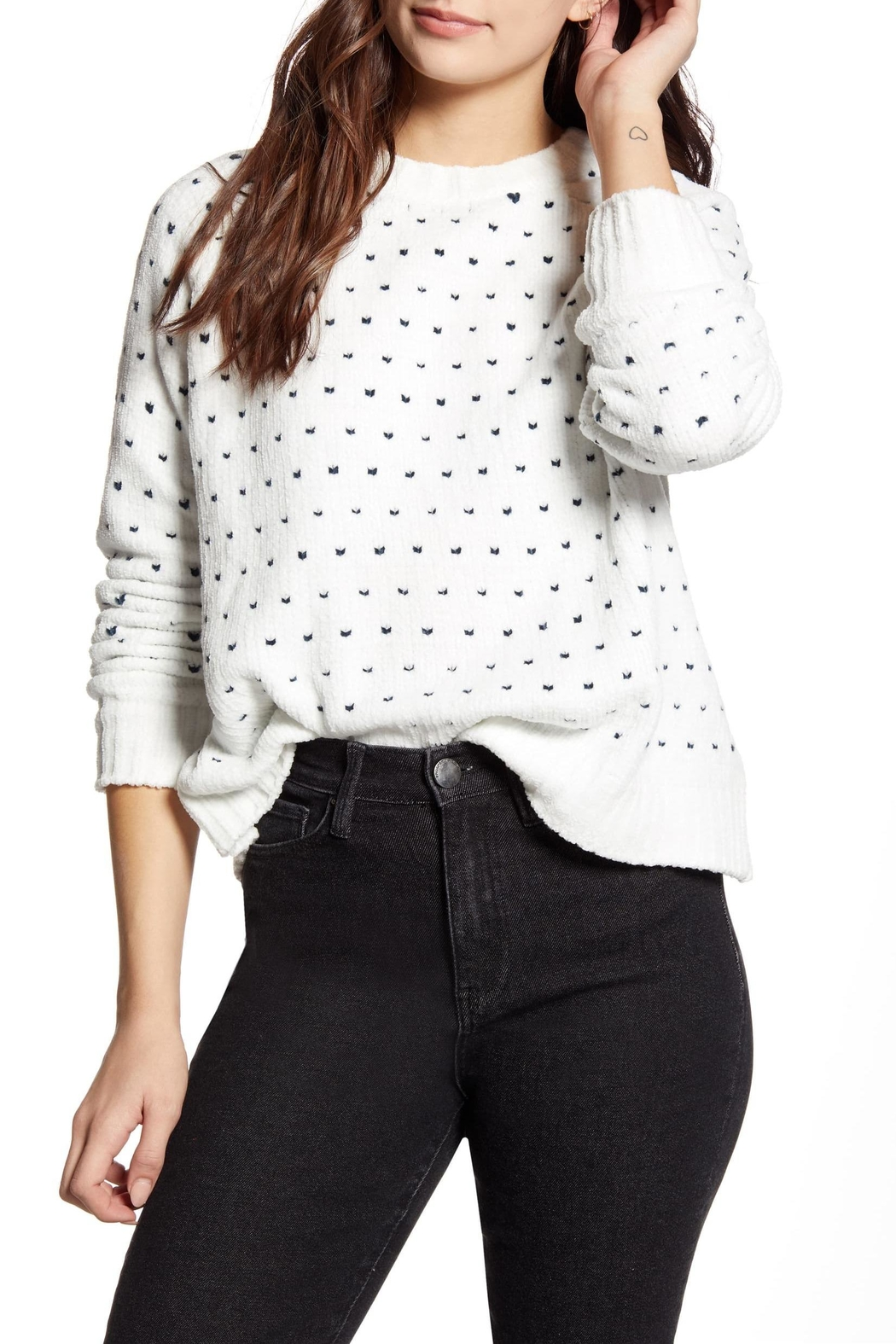 MINKPINK Your Heart Sweater - Main Image
