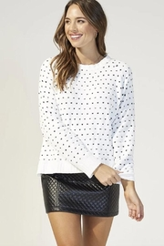 MINKPINK Your Heart Sweater - Back cropped