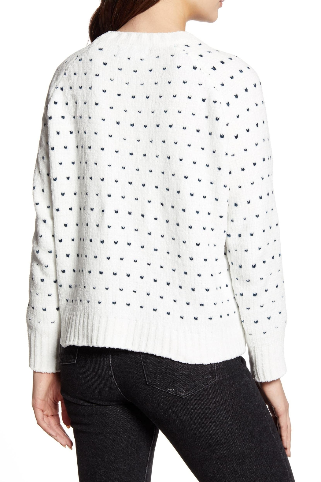 MINKPINK Your Heart Sweater - Front Full Image