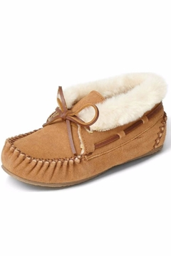 Minnetonka Moccasin Kids Suede Moc - Product List Image
