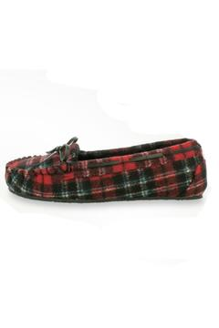 Minnetonka Moccasins Cally Plaid Slipper - Product List Image