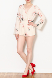 Blooms in The City Minnie Floral L/S Romper - Product Mini Image
