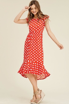 Reborn J Minnie Midi Dress - Product List Image