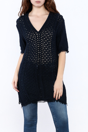Shoptiques Product: Navy Tunic Top