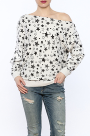 Shoptiques Product: Off-Shoulder Sweatshirt
