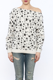 Minnie Rose Off-Shoulder Sweatshirt - Side cropped