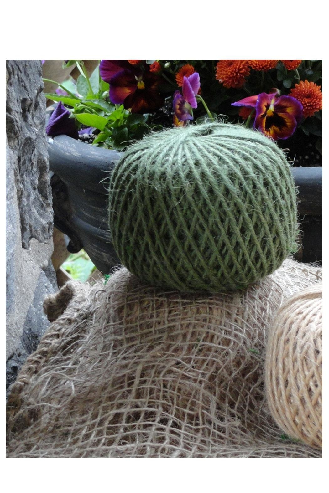Minnie and Moon Green Jute Twine - Front Full Image