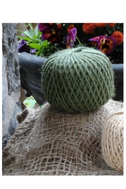 Minnie and Moon Green Jute Twine - Front full body