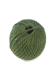 Minnie and Moon Green Jute Twine - Front cropped