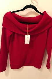 Minnie Rose Cashmere Cowl Sweater - Front cropped