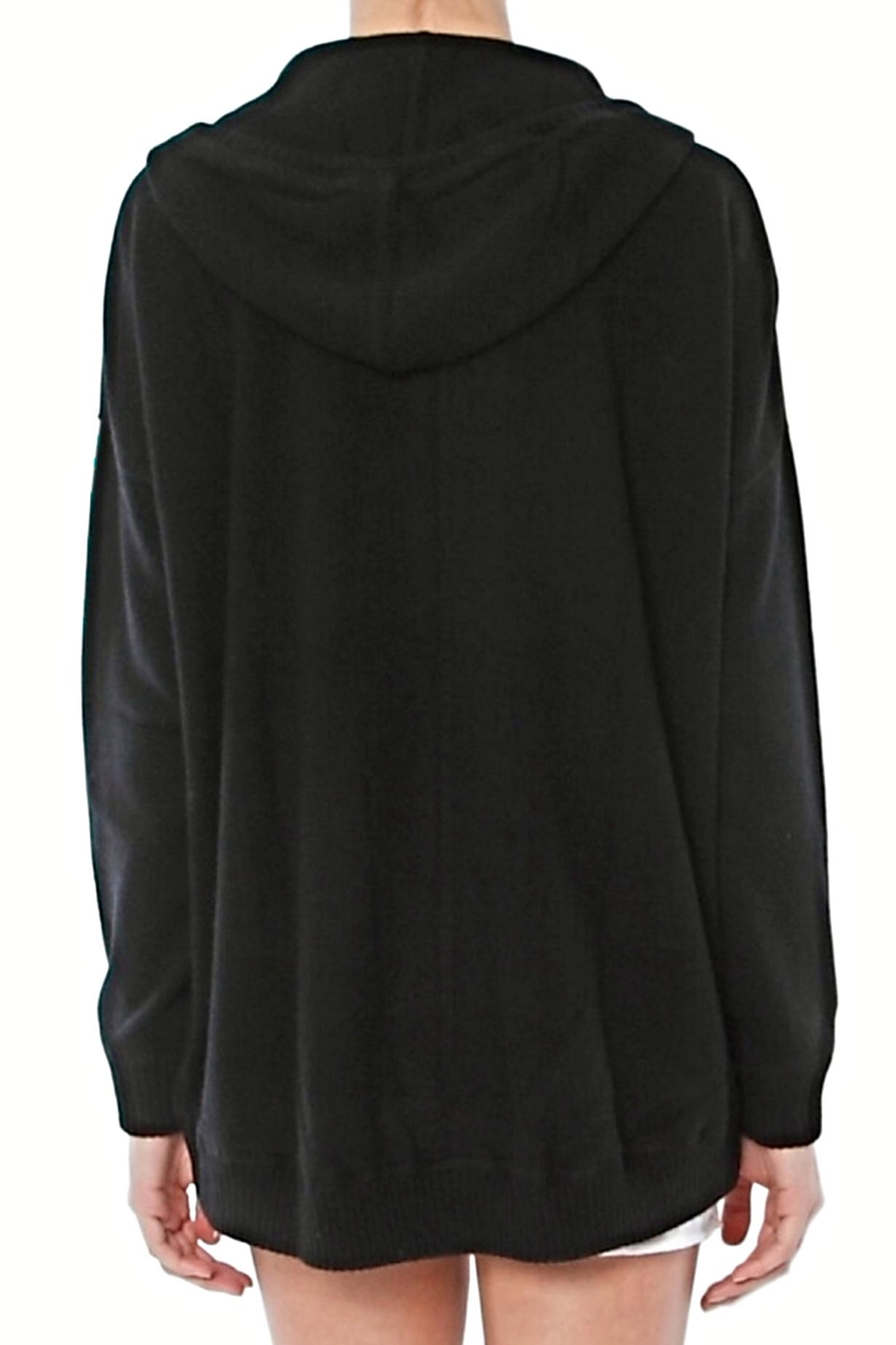 Minnie Rose Cashmere Hoodie - Front Full Image