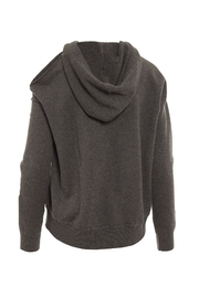 Minnie Rose Cold Shoulder Hoodie - Front full body